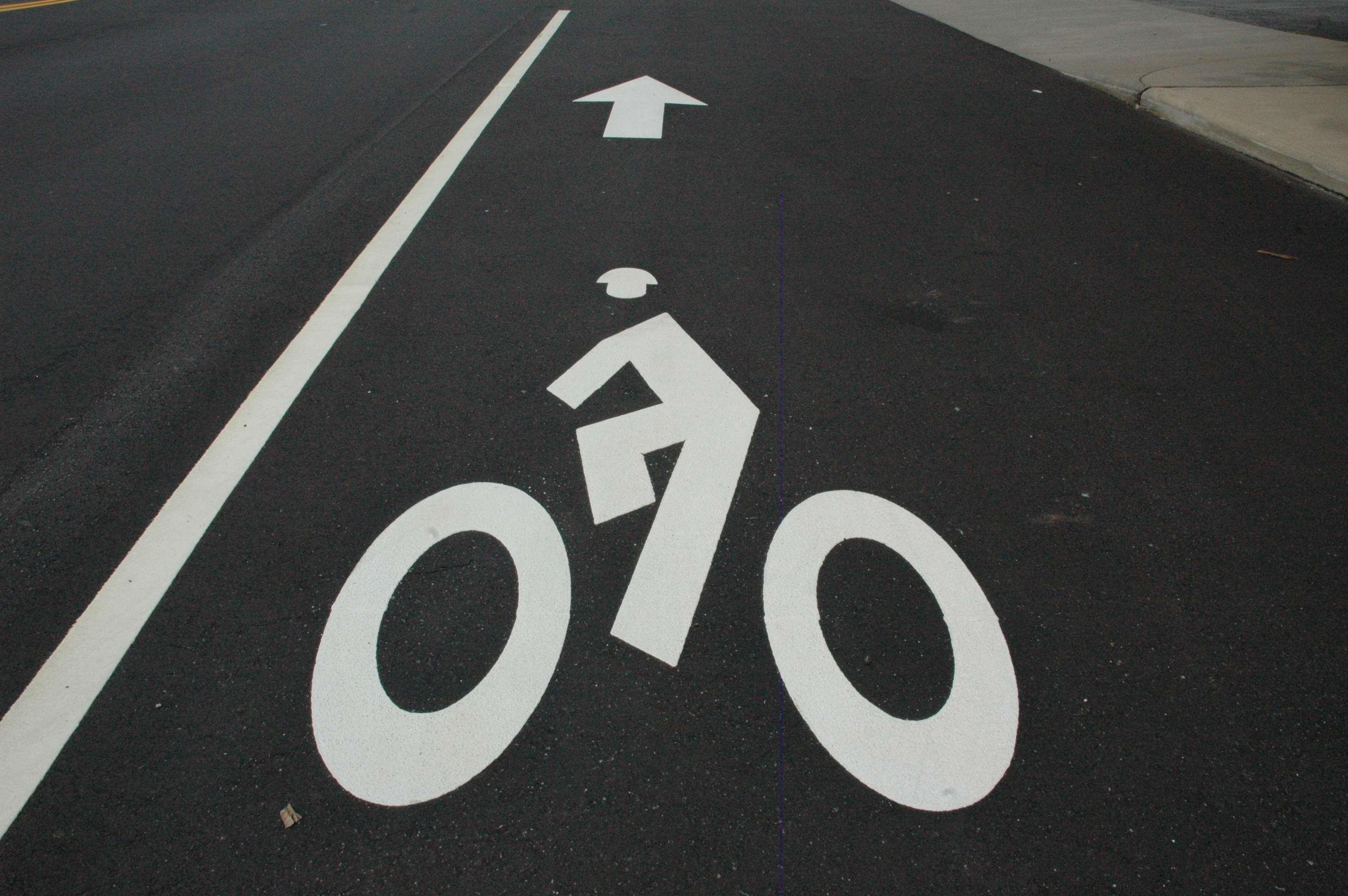 Photo of Bike lane in via Tuscolana