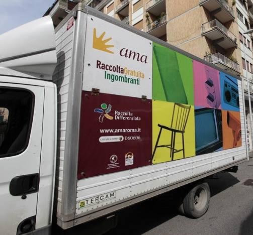 Photo of Ama – nuovo servizio raccolta rifiuti ingombranti